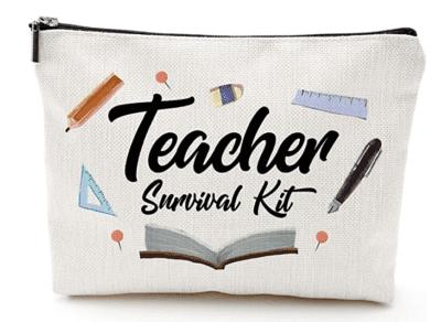 Teacher survival kit pencil pouch
