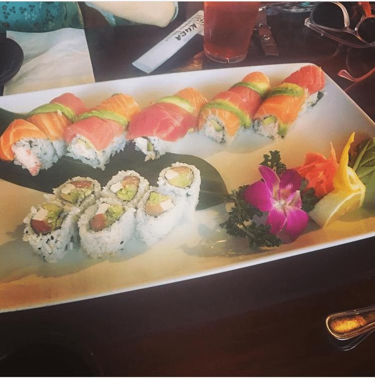 Sushi dish!