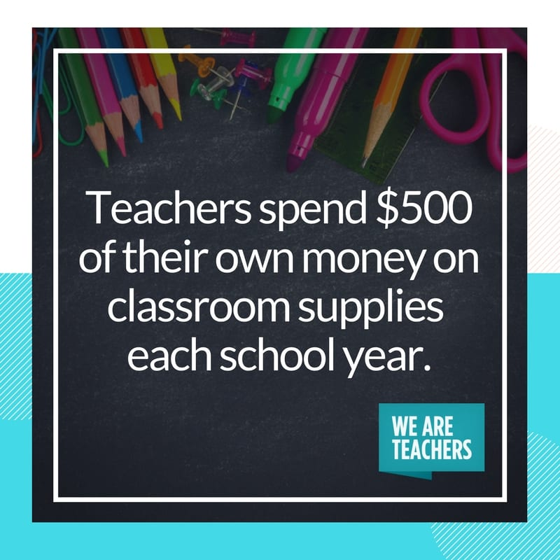 teacher spending