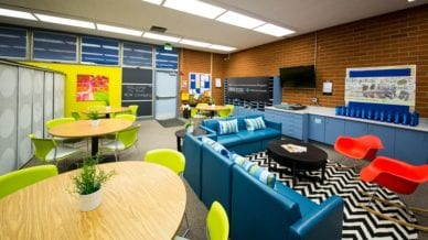 Enter to Win a Teacher Lounge Makeover