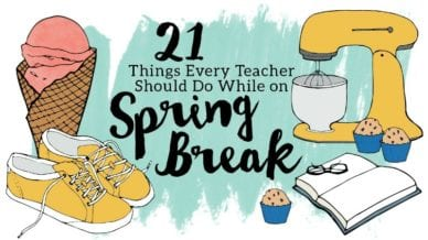 teacher spring break