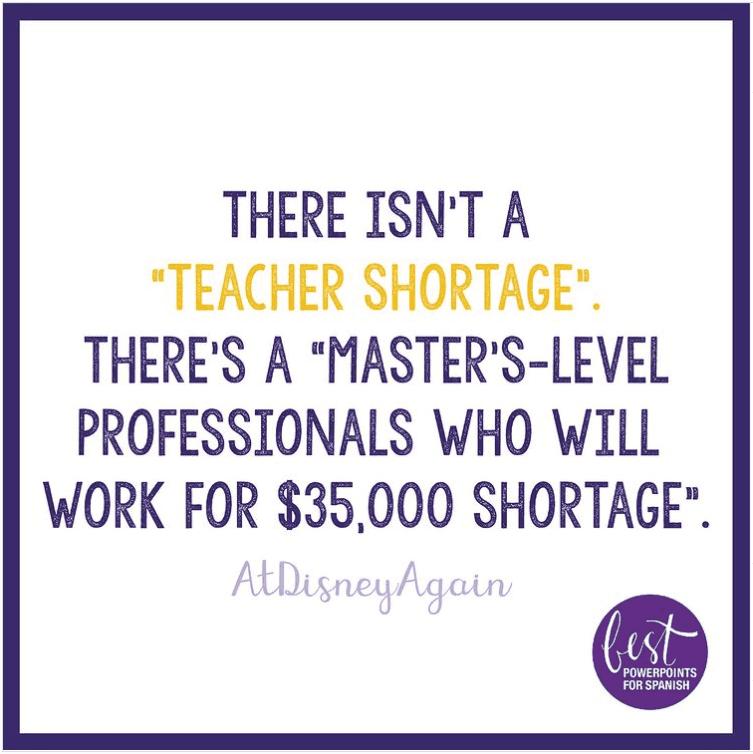Teacher salary meme