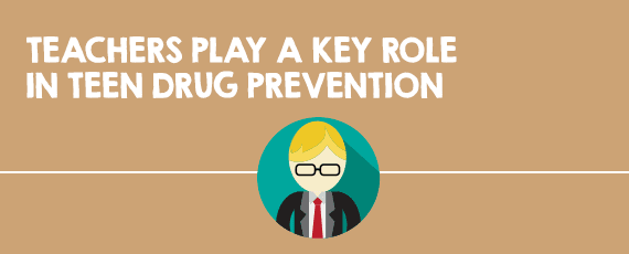 Teachers Play a Role in Drug Prevention - 10 Things Teachers Should Know About Teen Drug Use