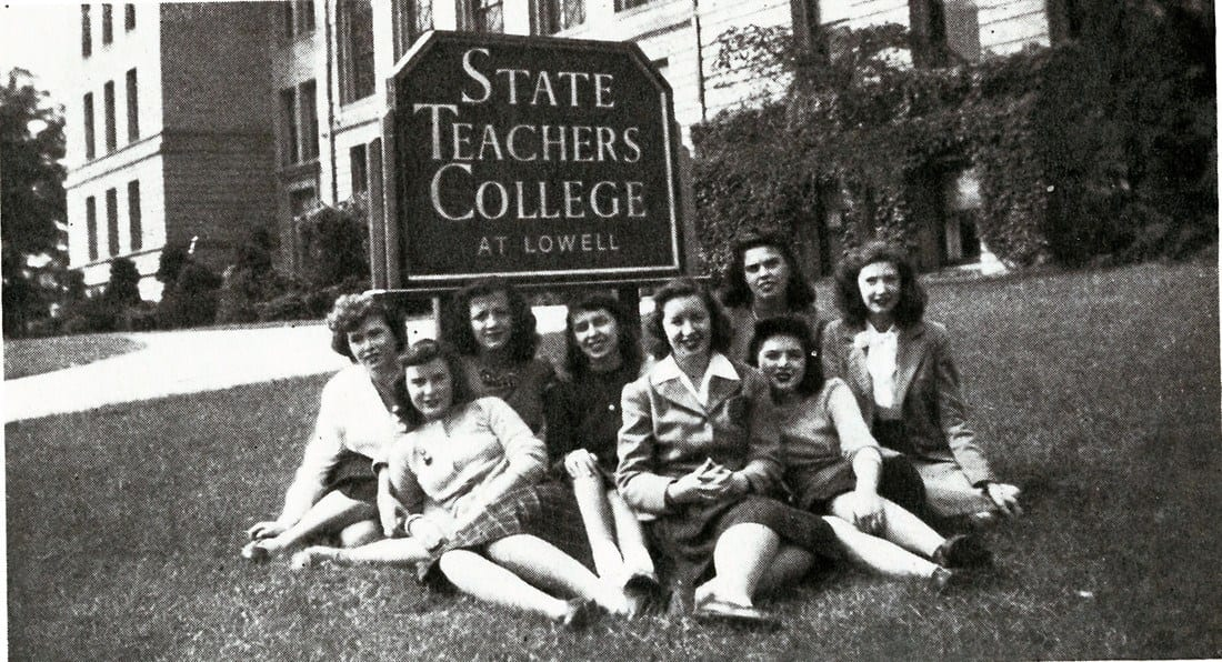 Teachers from the 1950's -- teaching a long time