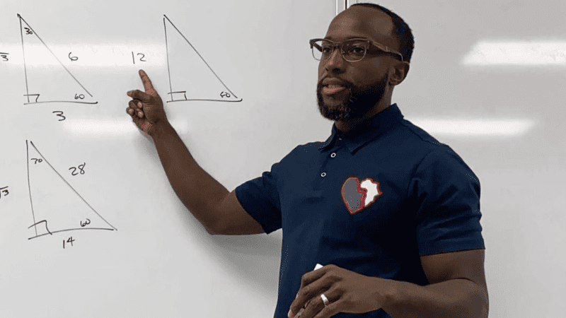 Yoga in the Classroom math Alonzo Nelson