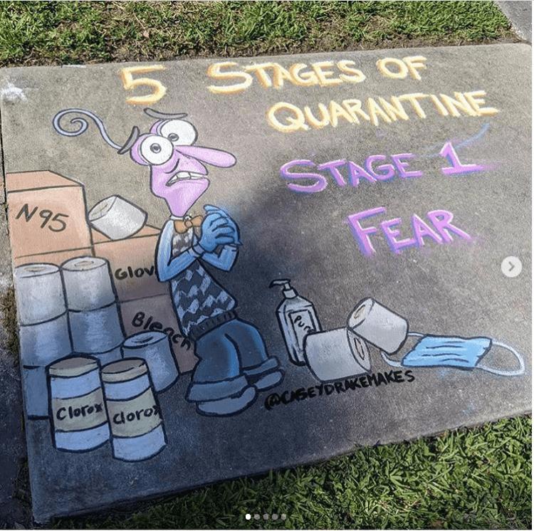 Quarantine Sidewalk Chalk