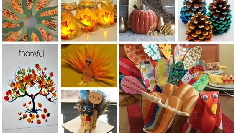 18 Adorable Diy Thanksgiving Craft Ideas Weareteachers
