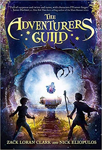 book cover for The Adventurers Guild Book 1