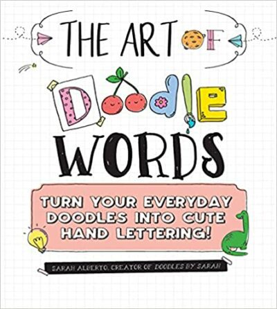 Book cover for The Art of Doodle Words