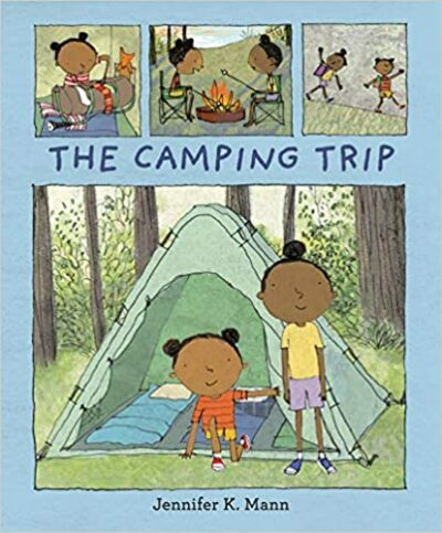 Book cover for The Camping Trip as an example of mentor texts for narrative writing