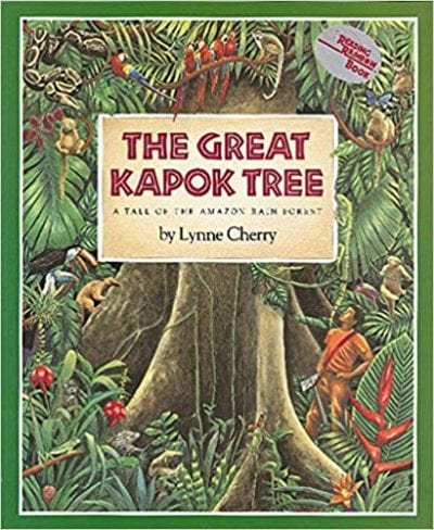 Book cover for The Great Kapok Tree
