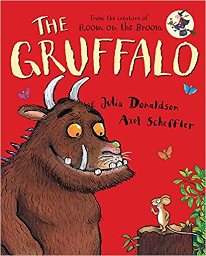 Book cover for The Gruffalo as an example of kids books about monsters