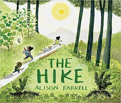 Book cover for The Hike