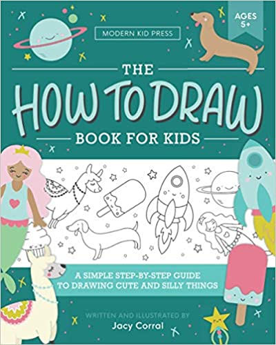 Book cover for The How to Draw Book for Kids as an example of drawing books for kids