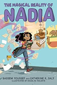 Book cover for The Magical Reality of Nadia as an example of fantasy books for kids