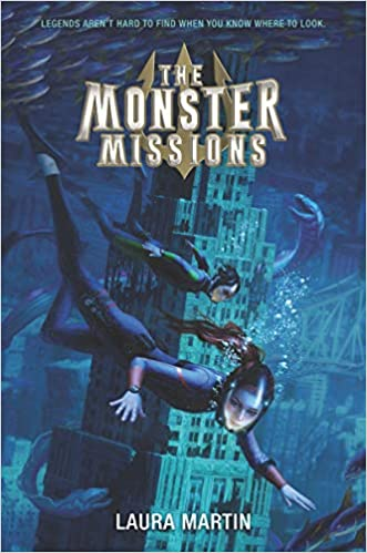 Book cover for The Monster Missions