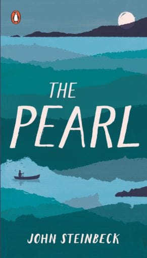 The Pearl book cover--middle school books