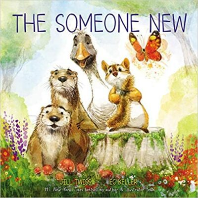 Book cover for The Someone New as an example of childrens books about friendship