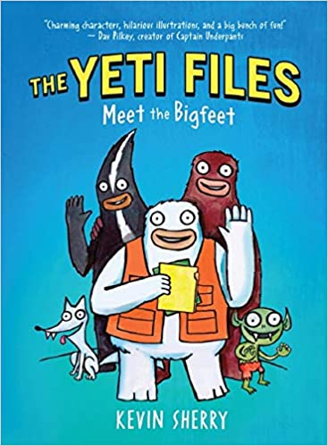 Book cover for The Yeti Files Book 1 as an example of books like Dog Man