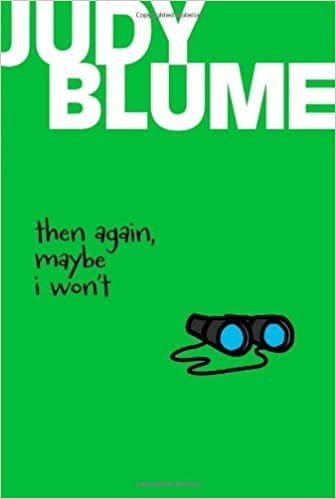 Book cover of Then Again Maybe I Won't by Judy Blume