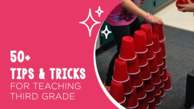 50 third grade tips and tricks for the classroom