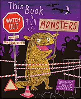 Book cover for This Book is Full of Monsters as an example of kids books about monsters