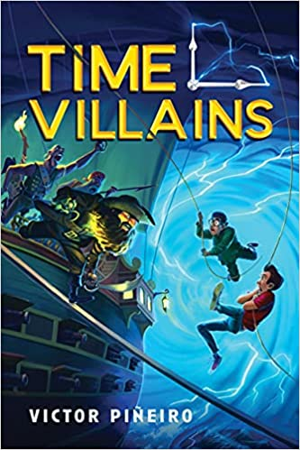Book cover for Time Villains