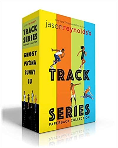 Box set of the four titles in the Track book series