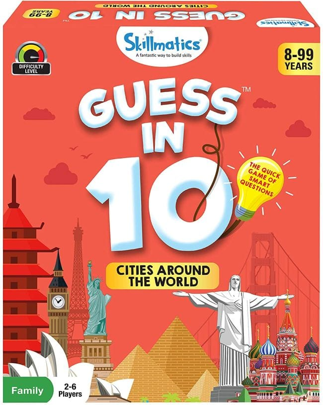Box for Guess in 10: Cities Around the World game