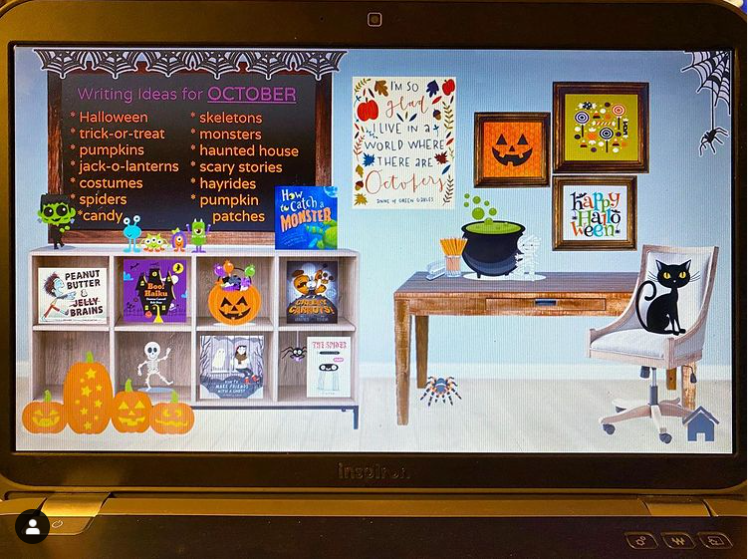 Bitmoji Classroom ideas for Halloween