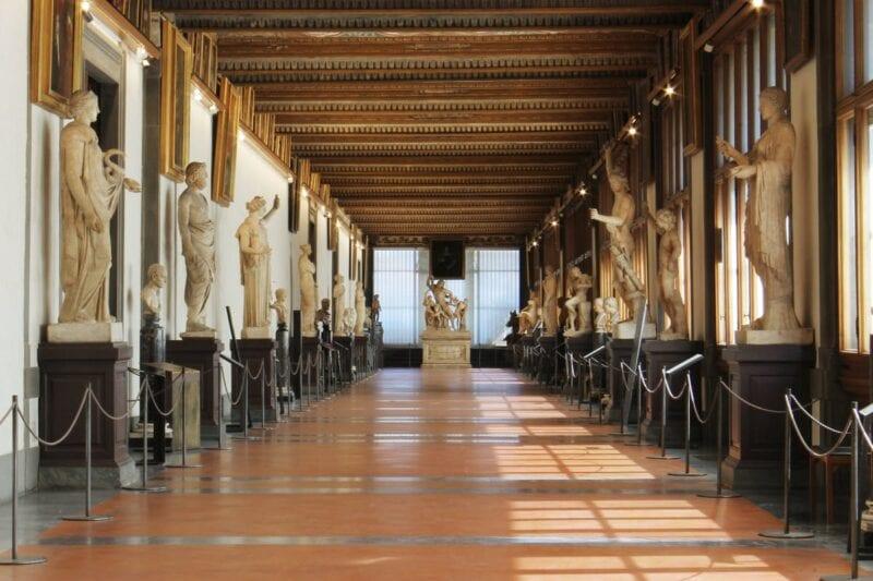 Uffizi museum exhibitions