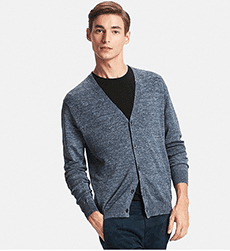 Uniqlo men's cardigan