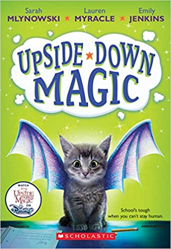 Book cover for Upside-Down Magic as an example of fantasy books for kids
