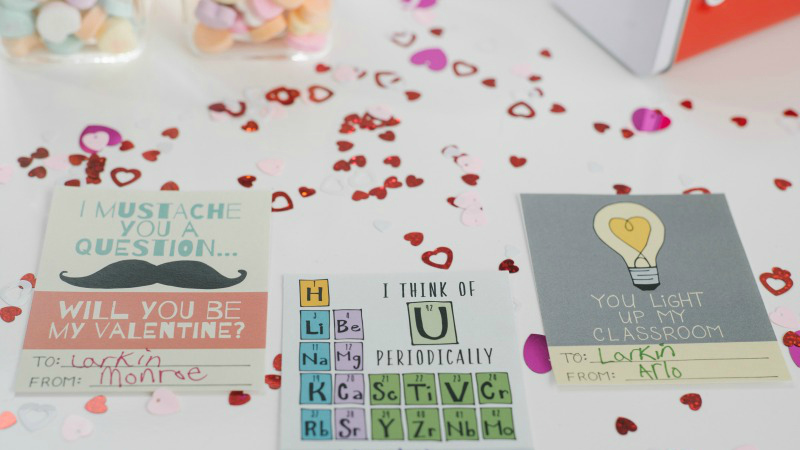 graphic relating to Printable Valentine named Printable Valentines for Pupils and College Coworkers