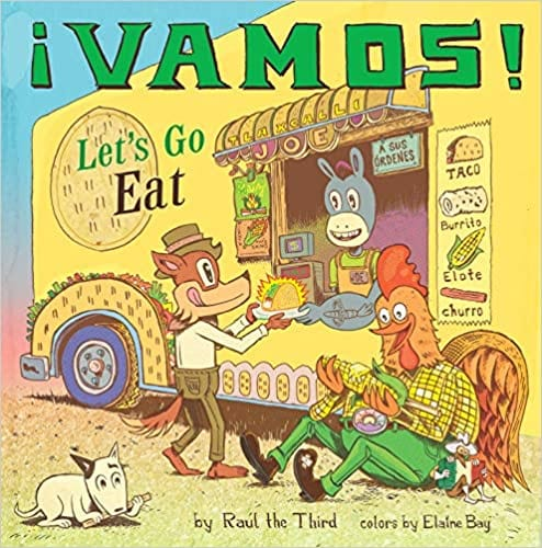 Vamos, Let's go Eat book cover
