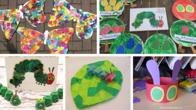 Cover image very hungry caterpillar activities