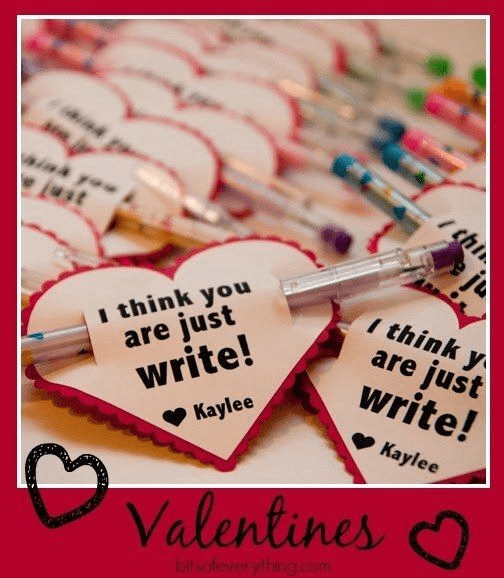 Printable Valentine's Day gifts and virtual party ideas for teachers