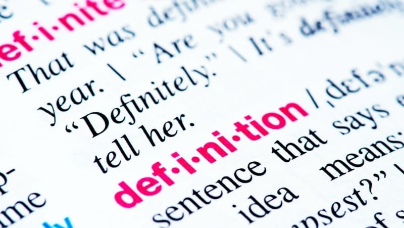 dictionary definition - vocabulary competition