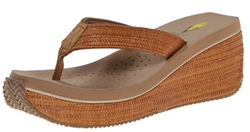 Volatile Wedge Sandal (Teacher Shoes)