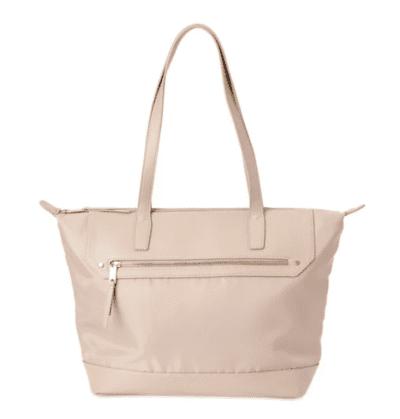Pink fashion tote bag