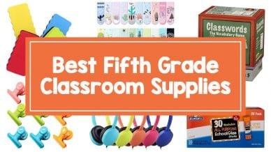 5th Grade classroom supplies