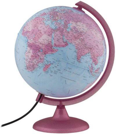 Waypoint Geographic Pink Continental Kids Globe