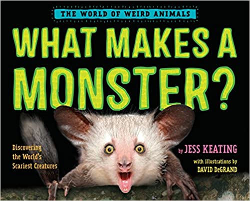 Book cover for What Makes a Monster? a