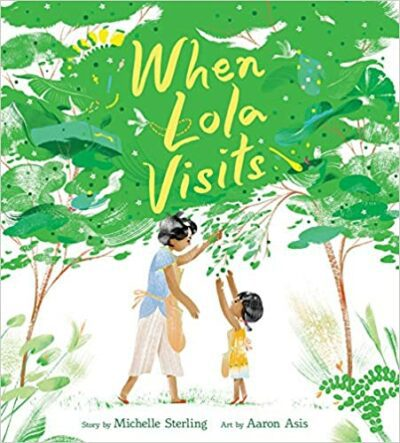 Book cover for When Lola Visits as an example of mentor texts for narrative writing