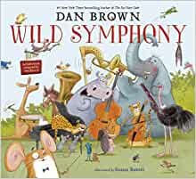 Book cover for Wild Symphony as an example of children's music books