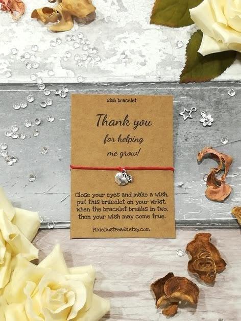 teacher bracelet - make a wish