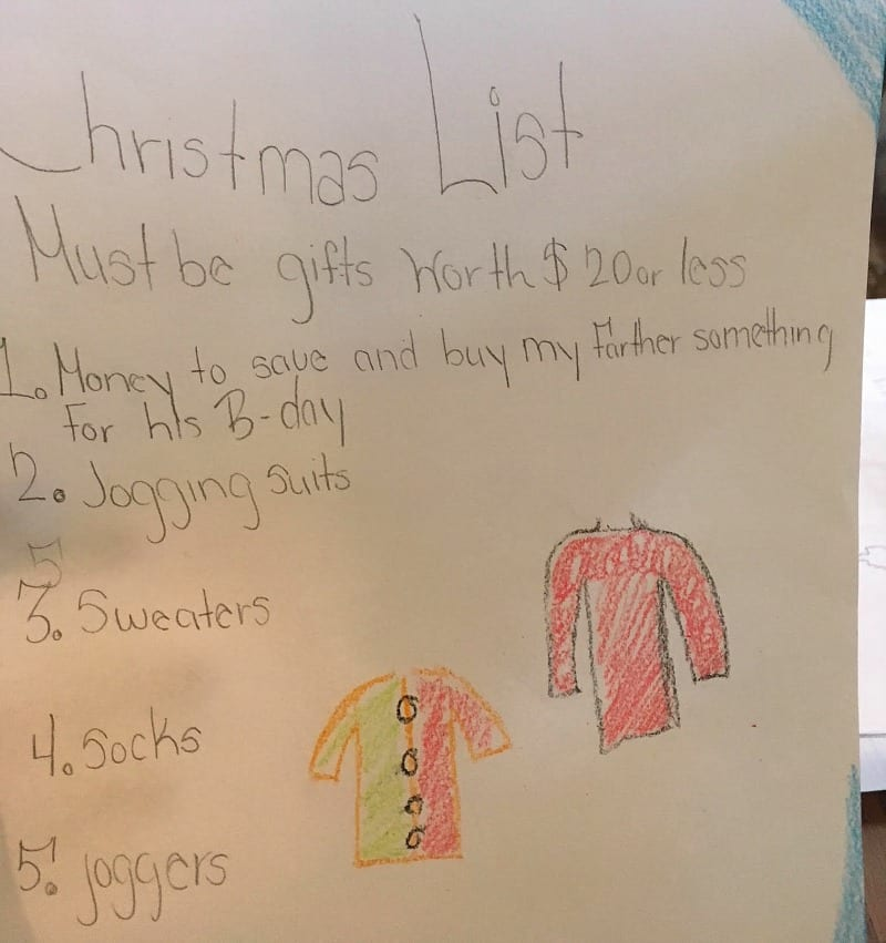 This Teachers Fulfilled Student Wish Lists By Posting Them
