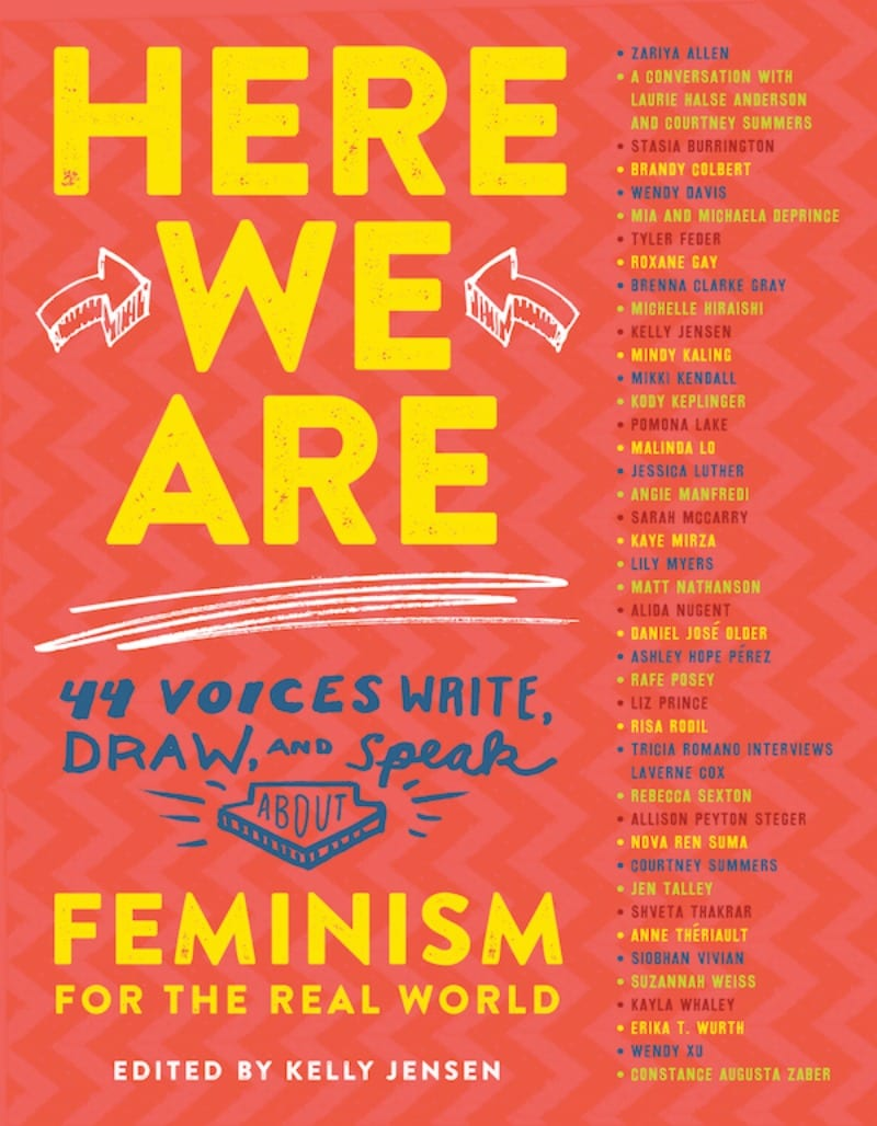 Here We Are: Feminism for the Real World book cover.