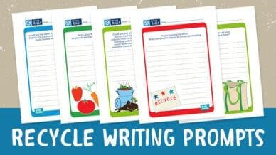 Recycling Writing Prompts