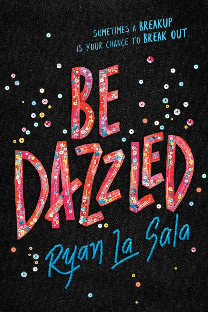 Cover of Be Dazzled black background with pink letters